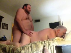 Cumdump Creampie Is Bred By Bear