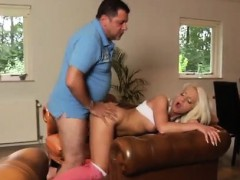 Flexable blonde and blonde milf bath handjob Phillipe is sle