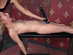 Sub Slave Nailed With Big Strapon Cock