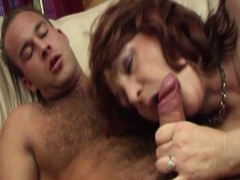 big titted hot mama pussy stuffed with young dick