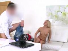 blonde-in-lingerie-bangs-huge-dick-in-casting