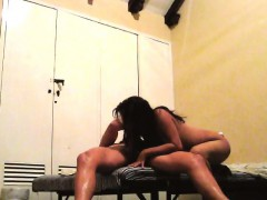 Latina Babe Gets Her Holes Banged Hard