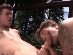 Big Dick Gay Anal Sex With Eating Cum
