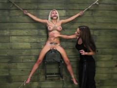 Blonde Kristin Is Self disciplined
