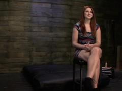 Redhead Hottie Shared Her Fetish In Basement Bondage Casting