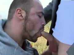 Arab Muscle Gay Man Muscular Studs Fuck In The Grassy Field!