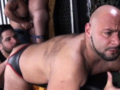 Mature Bears Barebacking And Jizzing