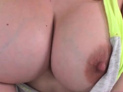 Big Tits Shemale Kylie Maria Deepthroats Cock And Barebacked