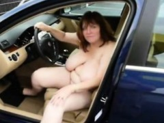 German Big Boobs Mature Masturbate Stacy