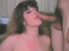a fat girl hits and trips a dick in a vintage movie