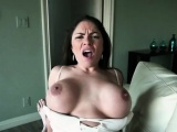Busty babe Latina Marta LaCroft gets fucked by her costumer