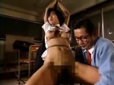 Enticing Asian girl with perfect tits and ass gets schooled