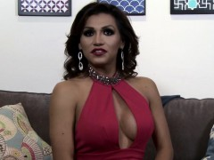 Transgender Latina Jizzed