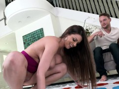 Busty Pornstar Screwed On The Couch