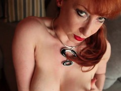 hot-and-horny-redhead-milf-masturbates-outside-before-the
