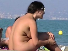 Nudist Video At The Beach Has