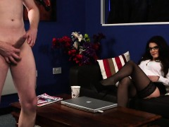 stockinged-english-voyeur-instructs-on-couch