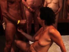 Cock Sucking Group Slut