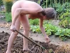 girl-mature-garden-outdoor-anal-fisting-dildo-21