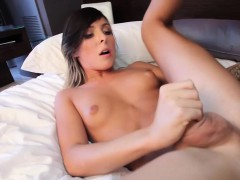 Tattooed Tgirl Cocksucking Black Dick In Room