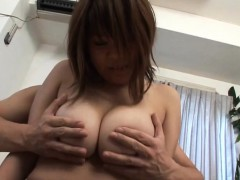 subtitled bbw tan japanese amateur massive breasts fondling