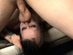 tattooed-up-brunette-mallory-maneater-gagging-on-dick