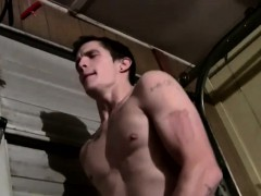 Straight And Sexy Lex And Nolan Strip Down Naked In The
