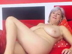 Busty Granny Linda 50 Years Webcam Solo