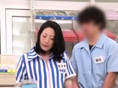 Japanese Babe Gets Totally Manhandled By Lustful Males