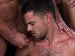 Straight Jock In Cocksucking And Fucking Orgy