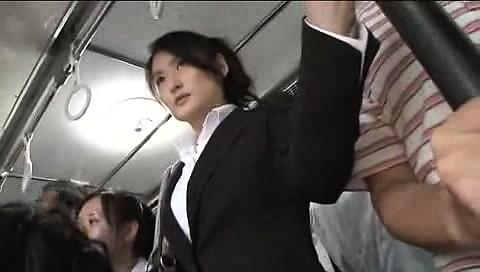 Japanese Teen Abused Bus