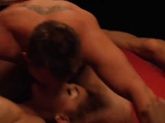 Couples Swinging And Liked Big Groupsex In The Red Room