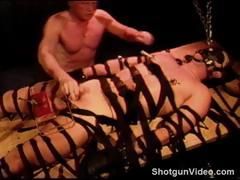 Cbt My Bottom Is Bound, Gagged And Hooded As I Crush His
