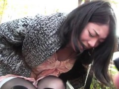 Slutty Pair Uses Their Alone Time In The Large Outdoors