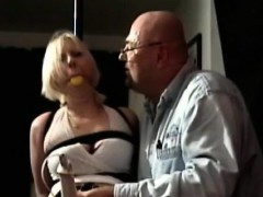 Young Teen Cant Move As The Big Lad Thongs Her Tight