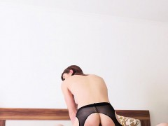 Stepsis In Stockings Gets Anal Fucked