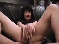 asian-fingering-her-hairy-pussy