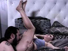 Aubrey Sinclair Blows Tommy Pistols Cock Off