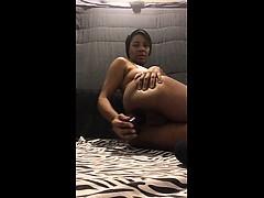 amateur-ebony-anal-dildo