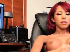 red-head-transbabe-jerks-her-cock-in-solo