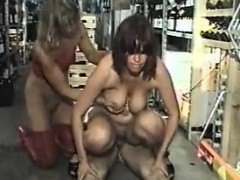 German Mom Piss Fuck In Store. See Pt2 At Goddessheelsonline