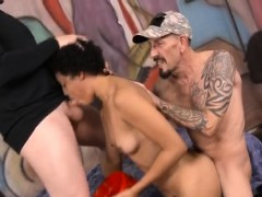 short-haired-black-whore-getting-her-face-fucked-roughly