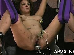 Rough Lesbian Thraldom In Scenes Along Hot Chicks