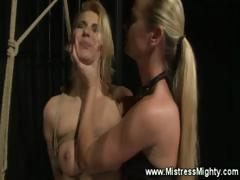 blonde-bitch-gets-her-pussy-fingered-from-mistress