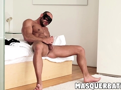Big Muscular Dude Thomas Friedl Jacking Off The Right Way