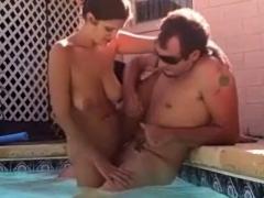 Sexy Fun In The Florida Pool