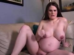 Alli Mo Preggo Girl In Webcam Jerking