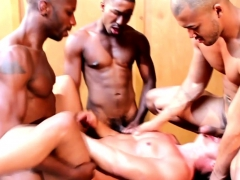 Asian Jock Gets Spitroasted By Three Bbc
