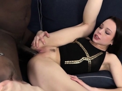 Hot Teen Casting With Cumshot