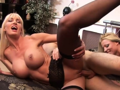 Beautiful Blondes Get Pounded In Hardcore Fashion